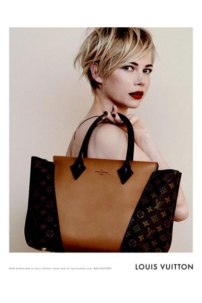 Michelle Williams para Louis Vuitton