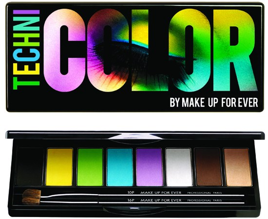 Dale color a los ojos con Technicolor de Make Up For Ever
