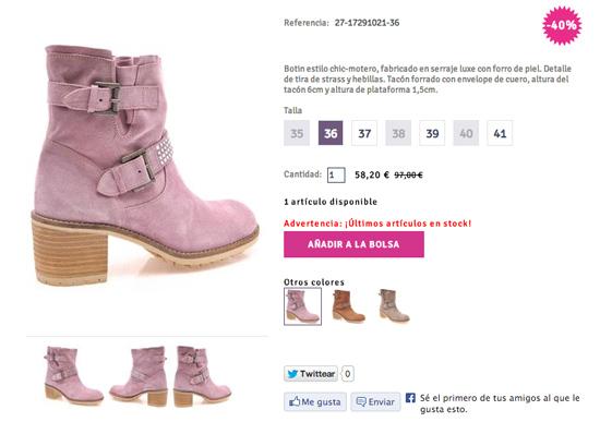 Alpe Team abre su tienda online de zapatos
