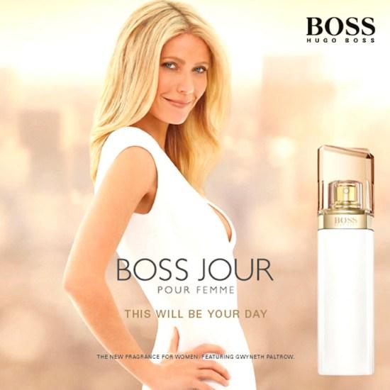 Gwyneth Paltrow para Boss Jour