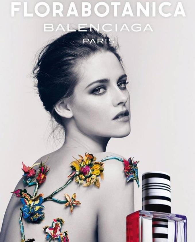 Kristen Stewart repite como imagen de Florabotanica, de Balenciaga