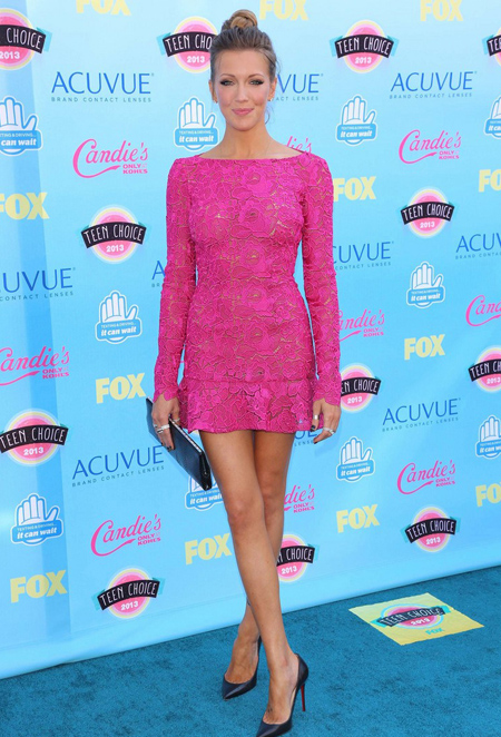 Katie Cassidy en Teen Choice Awards 2013