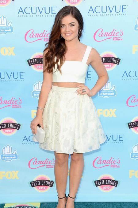 Lucy Hale en Teen Choice Awards 2013