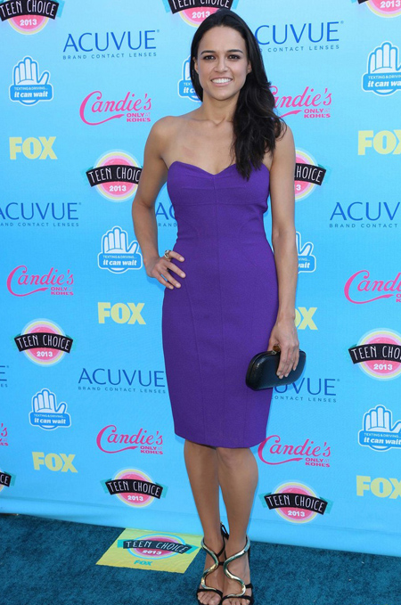 Michelle Rodriguez en Teen Choice Awards 2013