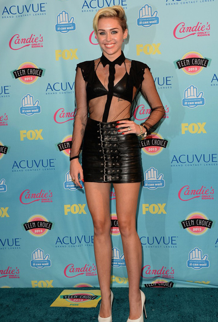 Miley Cyrus en Teen Choice Awards 2013