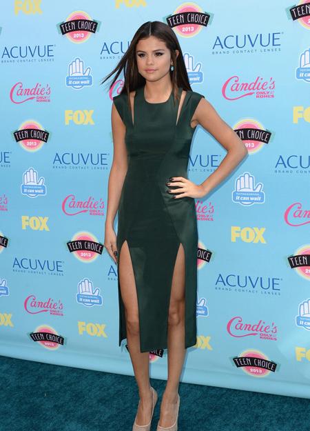 Selena Gomez en Teen Choice Awards 2013