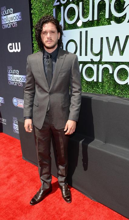 Kit Harrington en Young Hollywood Awards