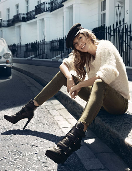 Gisele Bundchen para H&M