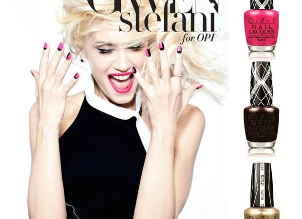 Gwen Stefani lanza una línea de lacas junto a OPI