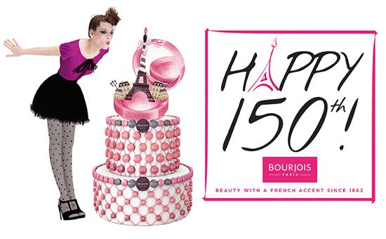 Bourjois 150 años