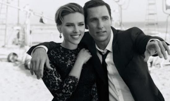 Scarlett Johansson y Matthew McConaughey para Dolce&Gabanna