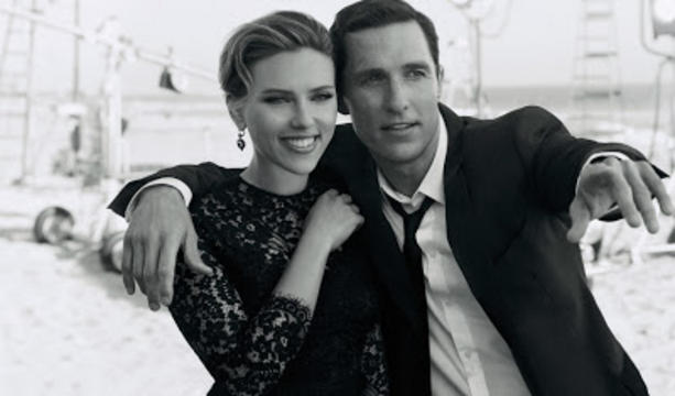 Scarlett Johannson y Matthew McConaughey protagonizan lo nuevo de Dolce&Gabanna