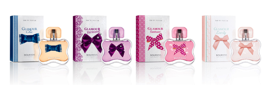Fragancias Glamour de Bourjois