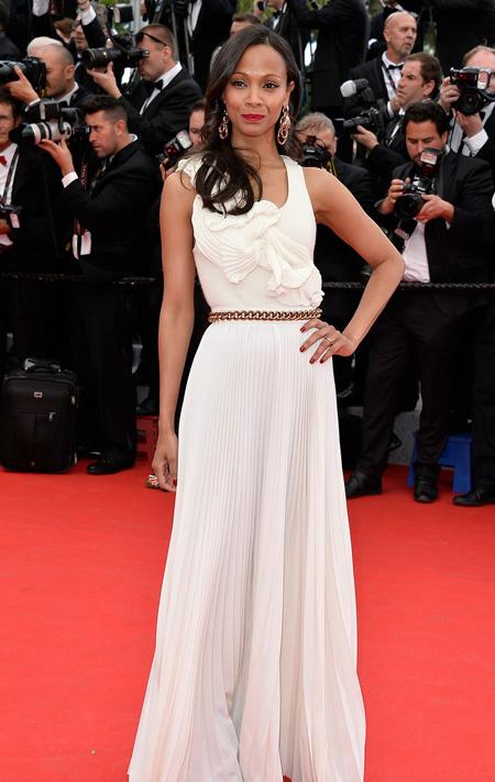 Zoe Saldana en el Festival de Cannes 2014