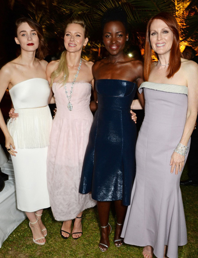 Vestidos que pasaron por la alfombra roja en el Festival de Cannes 2014 (Día 2)