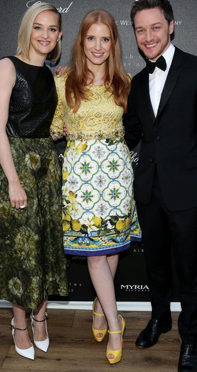Jessica Chastain en el Festival de Cannes 2014