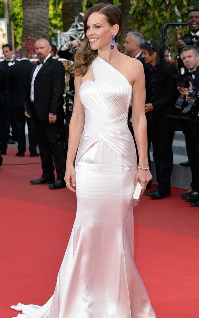 Hilary Swank en el Festival de Cannes 2014