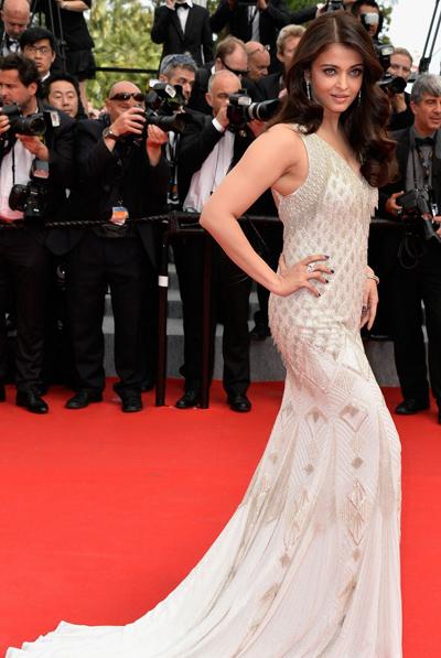 Aishwarya Ari en el Festival de Cannes 2014