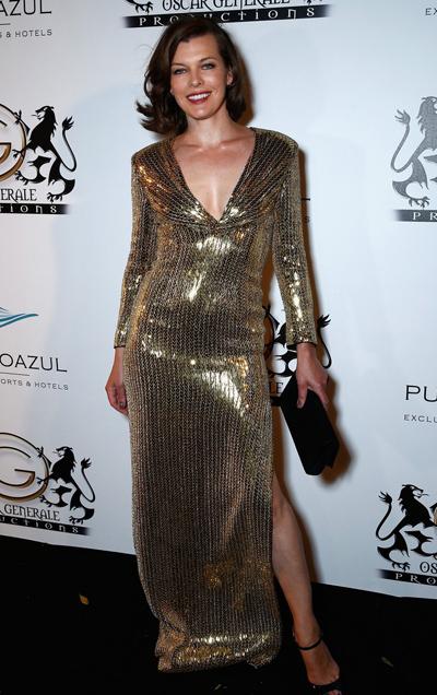 Milla Jovovich en el Festival de Cannes 2014