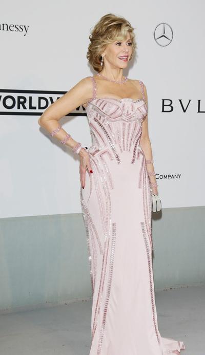 Jane Fonda en el Festival de Cannes 2014