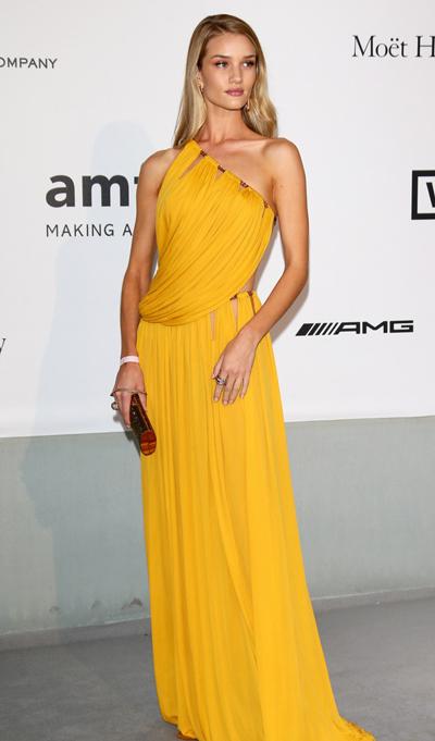 Rosie Huntington Whiteley en el Festival de Cannes 2014