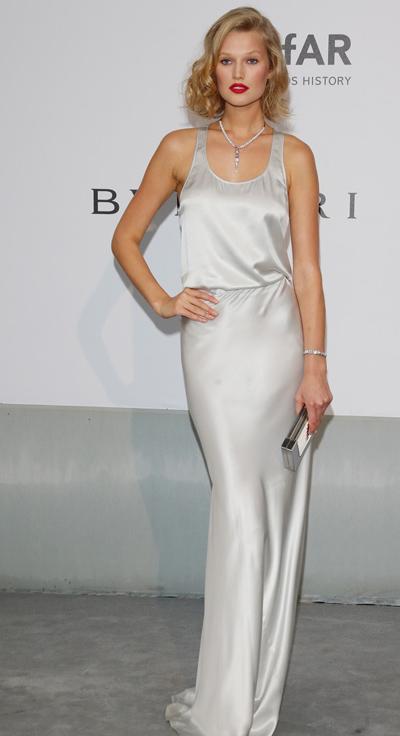 Toni Garr en el Festival de Cannes 2014