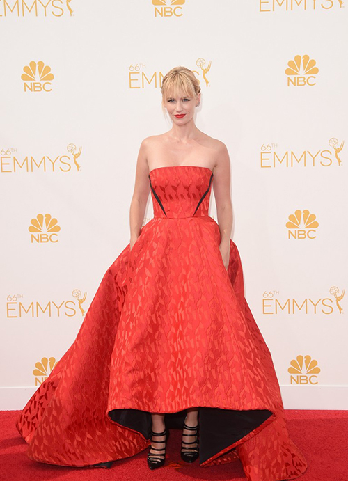 January Jones en los Premios Emmy 2014