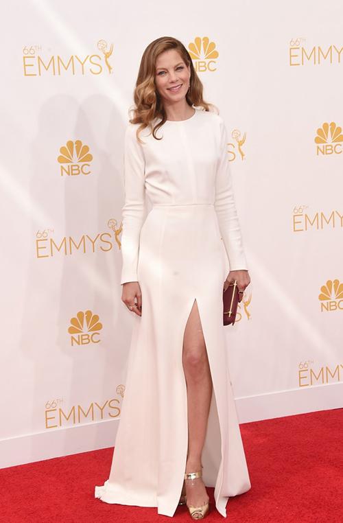 Michelle Monaghan en los Premios Emmy 2014