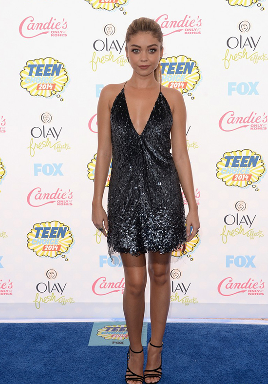 Sarah Hyland en los Teen Choice Awards 2014