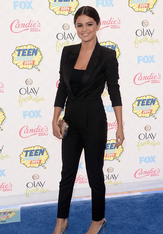 Selena Gomez en los Teen Choice Awards 2014