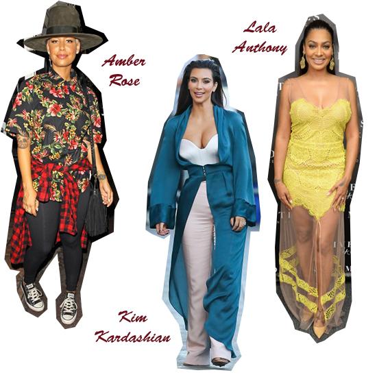 Celebrities mal vestidas