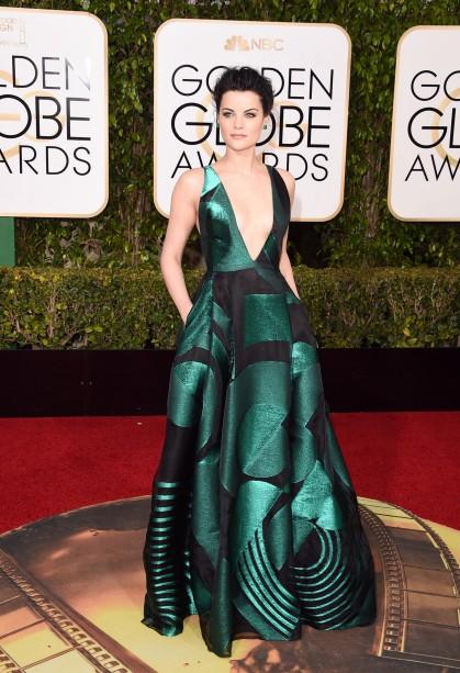 Jamie Alenxander en los Golden Globes