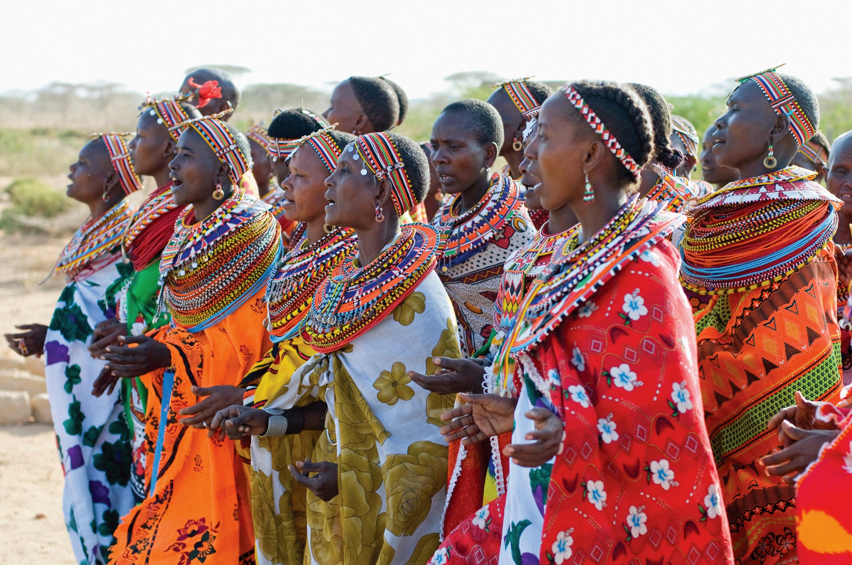 Telugu WorldWonders-This Kenyan Village Bans Men From Entering