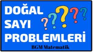 Doğal Sayı Problemleri VİDEO Konu anlatımı 6 Sınıf Matematik