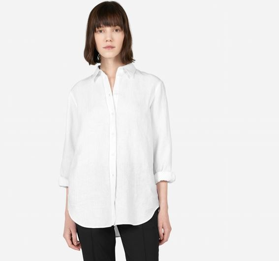 Everlane's The Relaxed Linen Shirt, $65, Photo Cred: Everlane
