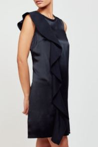 Cuyana Silk Ruffle Dress, $275, Photo Cred: Cuyana