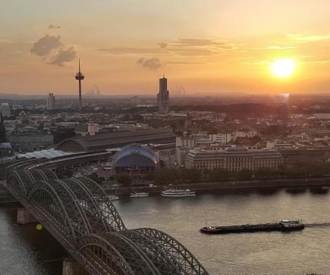 Tolle Aussichten auf Köln