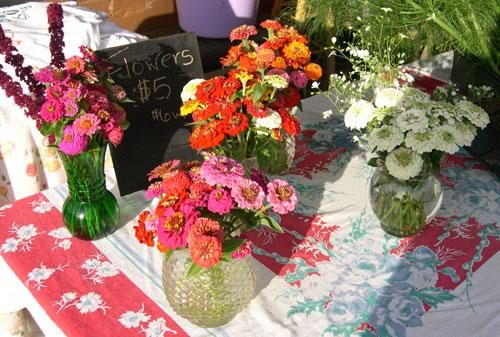 Debby's flower arrangements