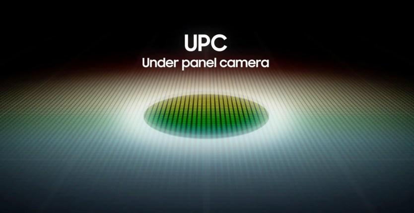 Caméra sous panneau