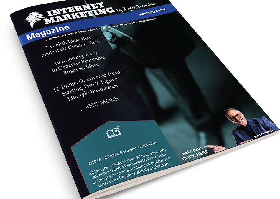 Internet Marketing Magazine – November 2018 – #1