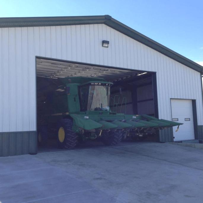 ATG-Combine Storage agriculture steel building