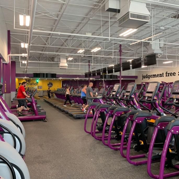 pf apopka gym interior build out square