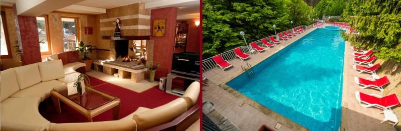 Хотел Дива, село Чифлик- един от най-интерените СПА хотели с външен топъл минерален басейн