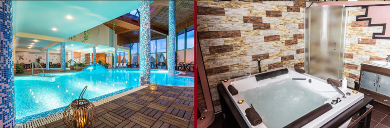 Хотел Олимп - един от най- добрите хотели с джакузи в стаята във Велинград