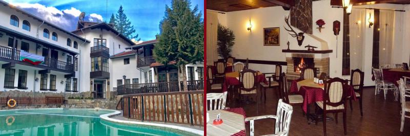 външен басейн на Семеен СПА Хотел Алфаризорт Чифлика в Стара Планина