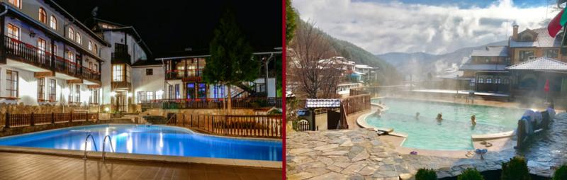 Хотел Алфаризорт Чифлика, хотел с открит топъл минерален басейн
