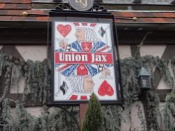 A closer look at the main sign.