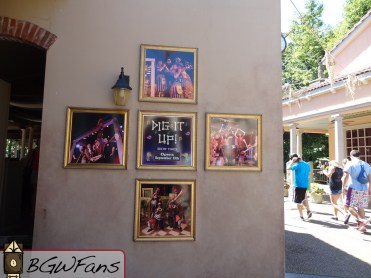 Dig it Up's theater signage is up as well