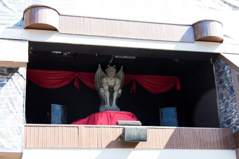 A look at the demon inside the center of The Vampire Point Hotel