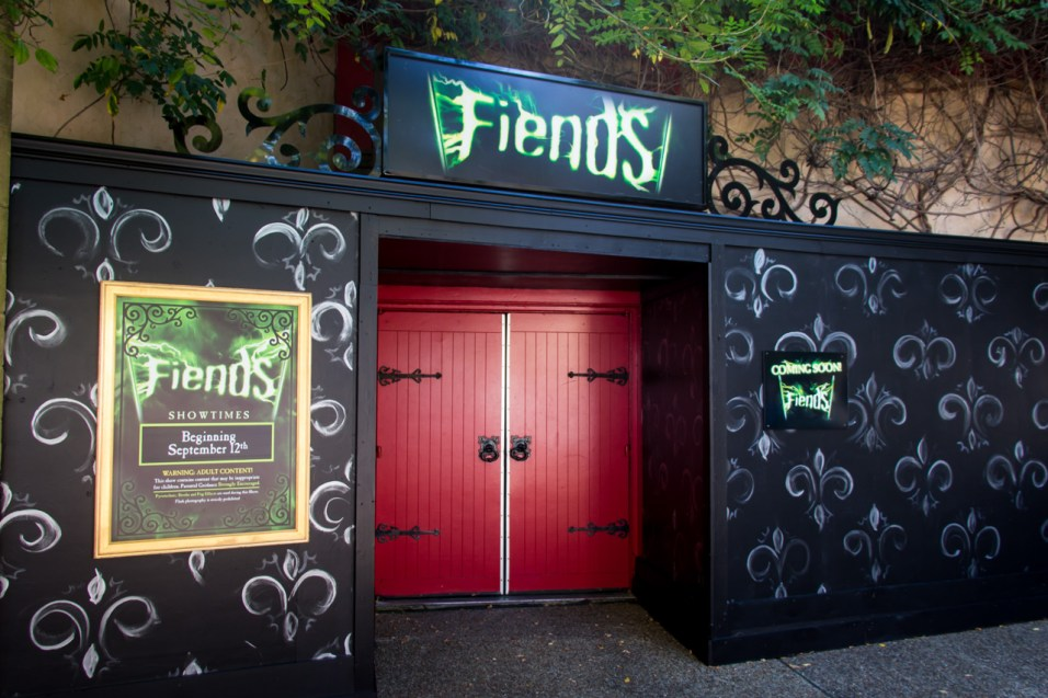 Fiends facade is completely ready as well